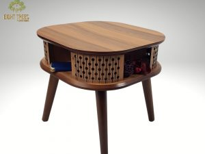 Alkanar Side Table (Walnut)