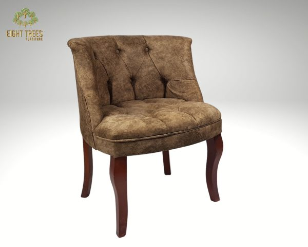 Brown Cocktail Chair