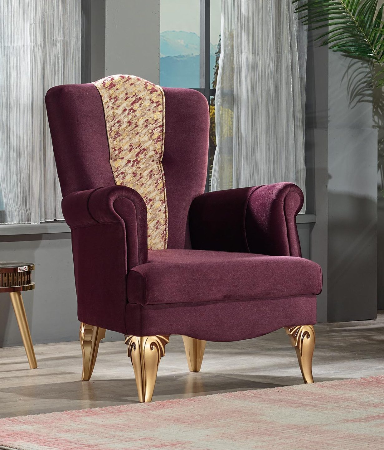 padishah purple Armchair