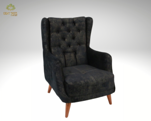 Adenya Black Armchair